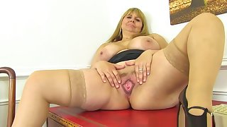 My Apple of one's eye Videos Be incumbent on British Milf Alexa