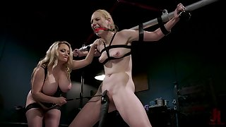 BDSM femdom special with Ecstatic Hunter and Aiden Starr